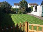 Large rear cottage garden