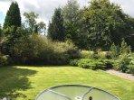 Garden at Cysgod Bach
