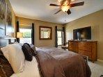 09-Flat screen TV in master bedroom