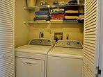 16-Laundry closet in unit