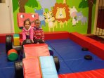 Onsite Toddlers soft play (March - October only)