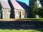 Labyrinth, Christ Church, Birregurra