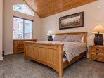 Master Bedroom - King Bed- Smart Flat Screen TV