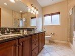En-suite Master Bathroom - Jet Tub and Shower