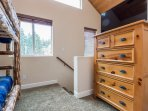 Loft- Bunk Bed (Twin over Twin) with Flat Screen Smart TV