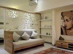 bedroom plus sofa