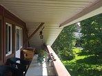 Balkon unserer Wohnung
