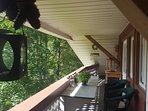 Balkon in Richtung Süden