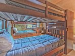 Bedroom 2 with Two Bunk Beds - One Full/Full and One Twin/Twin with a Twin Trundle , TV with DVD and Private Bath