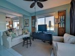 3-Comfortable living room space