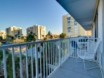 12-Balcony overlooks pool and Clearwater Harbor