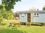 Sage Shepherd Hut set in meadows