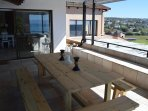 Stunning sea views from the large NE facing patio