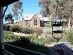 Chapel has indoor& outdoor dining, kitchenette, BBQ facilities