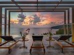 Malaiwana Penthouse - Stunning sunset view