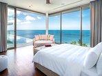 Malaiwana Penthouse - Master bedroom outlook