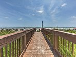 Walk down the boardwalk and jump into the Atlantic Ocean to kick off your vacation!