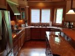 Fully applianced kitchen