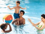 Enjoy your time with your family in our swimming pool