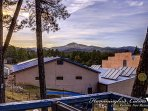 View of Sierra Blanca from the back deck