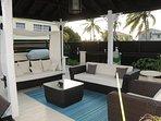 Gazebo by the pool HG Villa a luxury villa in Barbados