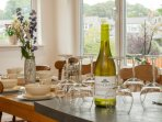 A great place enabling many friends and family to wine and dine