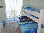 Bedroom 3 with Pyramid Bunk