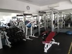 Workout room on site at no extra cost