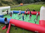 Human Table Football is now available to guests