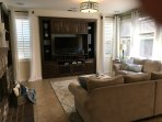 Family Room with TV, Xbox, and board games