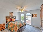 The second bedroom is a great place for the kids or an additional couple.