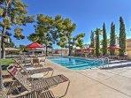 Lounge poolside on summer days.