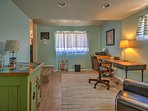 Take advantage of this home office so you can work from home if you need to during your stay.