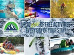Get up to $200 of FREE activities every day of your stay