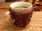A hot cosy tea made from locally picked herbs