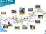 Le parcours de la Loire à Vélo à 5 minutes