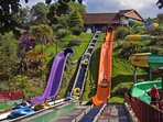 Woodlands Leisure Theme Park, just a mile up the road and a great day out