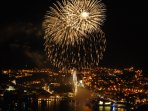 Fireworks on 10th July opening Dubrovnik Summer Festival