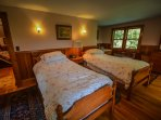 Upstairs - Two Twin Beds