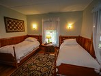 Downstairs - Two Twin Beds