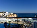 Breathtaking view from the bedroom/balcony of the Atlantic Ocean and Carvoeiro