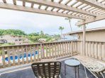 Step out of the Master King Suite to your Private Lanai...Enjoy a Kona Coffee and an Exhale!
