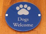 Small well behaved dogs welcome
