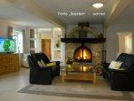 Ferienwohnung 100 m2 mit drei Schlafzimmer und großer Küche, sowie zwei Bäder