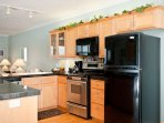 Oregon Coast Beach Rental Kitchen