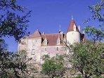 Tout près du gîte vous pouvez aussi vous rendre à Chateauneuf en Auxois,