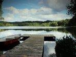 Ou profiter du retour au calme du Lac de Grosbois pour une partie de pêche,