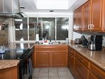 All brand new kitchen appliances.