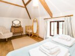 Double bedroom with beams