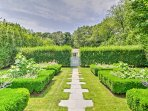 Stroll through the English landscaped gardens and cherish the tranquility of the property.